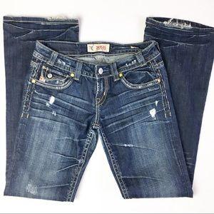 SZ 28 X34 Mek New York Bootcut Jeans